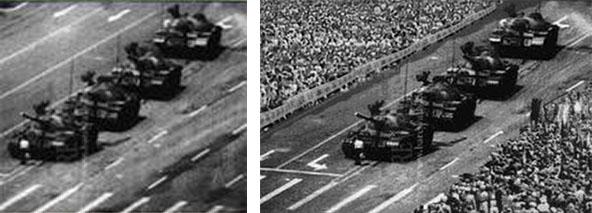 Manipulated Photographs, Manipulated Memories realfake