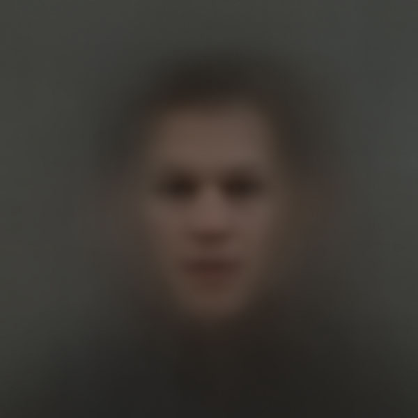 Averaged Portraits Created Using Faces Found in Popular Movies ssbkyh the bourne identity copy