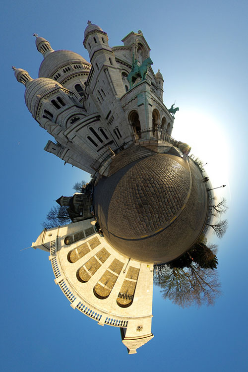 Bending Pixels: Fun Things You Can Do With Panorama Stitching Software stereographic