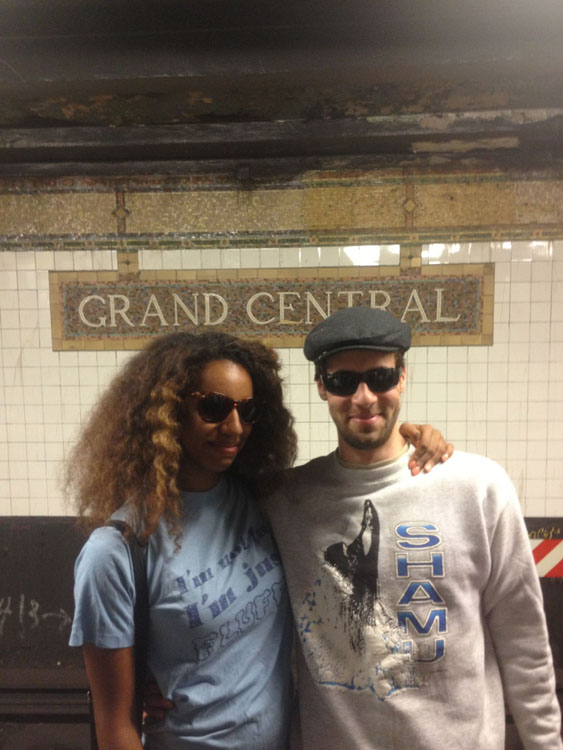 Couple Captures Selfies at Each of the 118 Subway Stations in Manhattan subwaystops 7