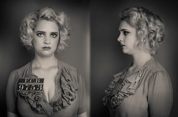 Wanted: Recreating Mug Shots Taken in the 1920s and 30s wanted1