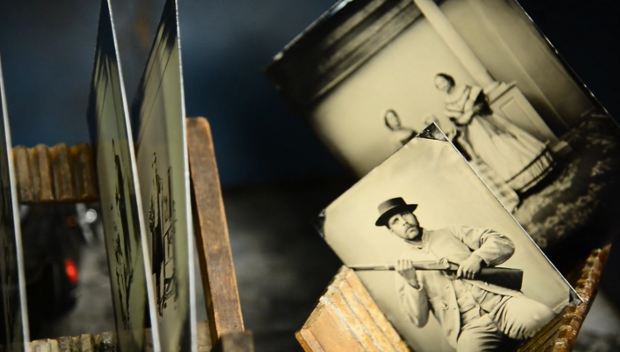 Shooting Portraits of Civil War Reenactors Using the Age Old Wet Collodion Process wetcollodion1
