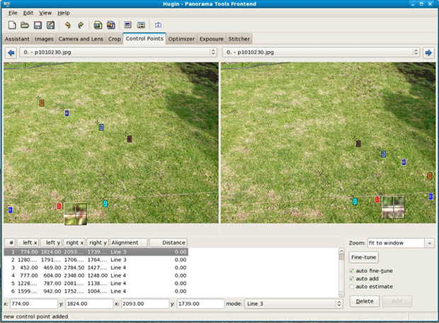 Bending Pixels: Fun Things You Can Do With Panorama Stitching Software window
