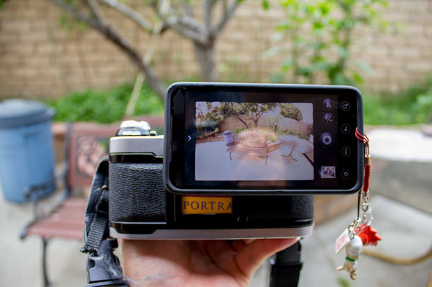 Make a Super Simple Smartphone to SLR Adapter Using an Extra Eyepiece MG 7032