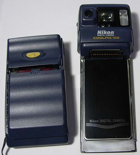 10 Quirky Camera Designs from Digital Photographys Past Nikon Coolpix 100