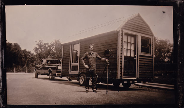 The Lumiere Photobooth: A Fully Mobile Traveling Tintype Portrait Studio Tintype photobooth