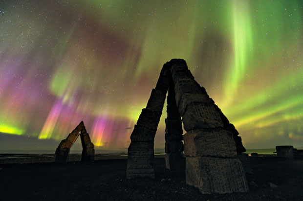 Beautiful Photos of Auroras Shimmering Over Iceland by Stéphane Vetter auroraphoto 15