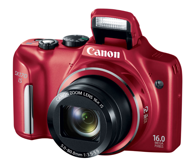 Canon Refreshes Point and Shoot Lineup, Brings Facebook Sharing to PowerShot N canonsx170