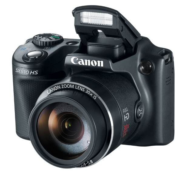 Canon Refreshes Point and Shoot Lineup, Brings Facebook Sharing to PowerShot N canonsx510