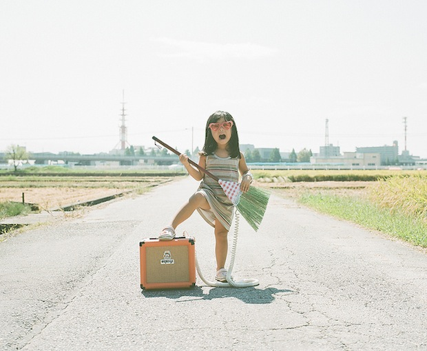 A Japanese Dads Imaginative Conceptual Portraits of His 4 Year Old Daughter daughter13