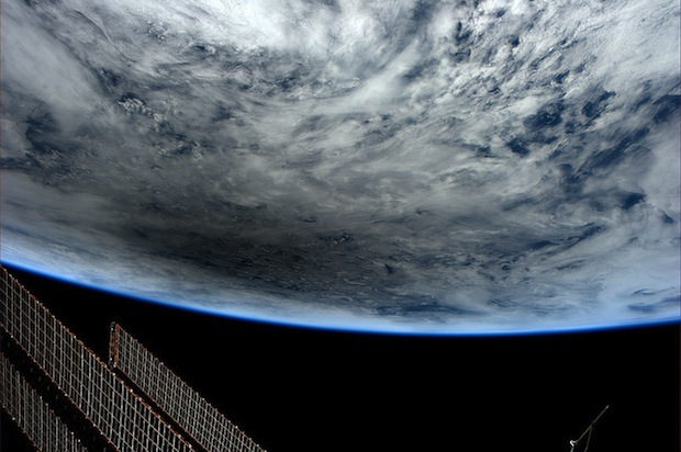 Incredible Photos of The Moon Casting Its Shadow on Earth During a Solar Eclipse eclipsespace1