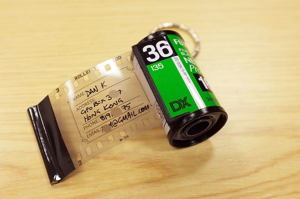DIY: Film Canister Bag Address Tags filmtags1