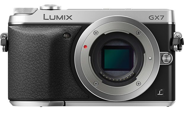 Panasonic GX7 is a 16MP Mirrorless with In Body Stabilization and a Tiltable EVF gx7 front