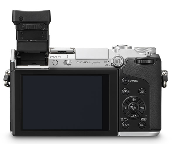 Panasonic GX7 is a 16MP Mirrorless with In Body Stabilization and a Tiltable EVF gx7tilt2