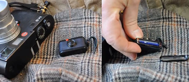 Walter SD Card Holder: Store Your Digital Photos in This Miniature Leica M holder