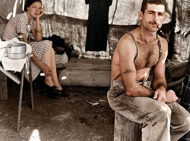Colorizing Photoshoppers Put a New Spin on Old Historical Photos iV1G9keZK6l36