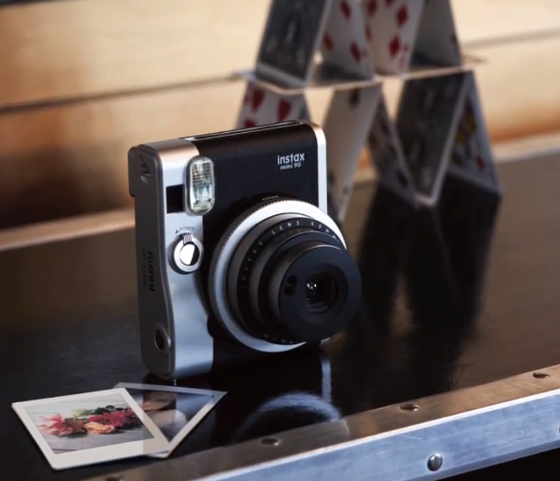 Fujifilm Brings Retro Styling to the Instant Camera World with the New Instax Mini 90 instaxmini90 3