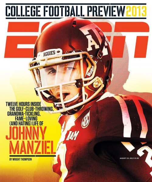How I Shot a Photo of Johnny Manziel for the Cover of ESPN The Magazine johnny