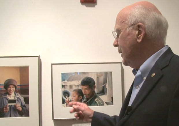 Photographer and Senator Patrick Leahy Talks About His Passion for Photography leahyexhibit1
