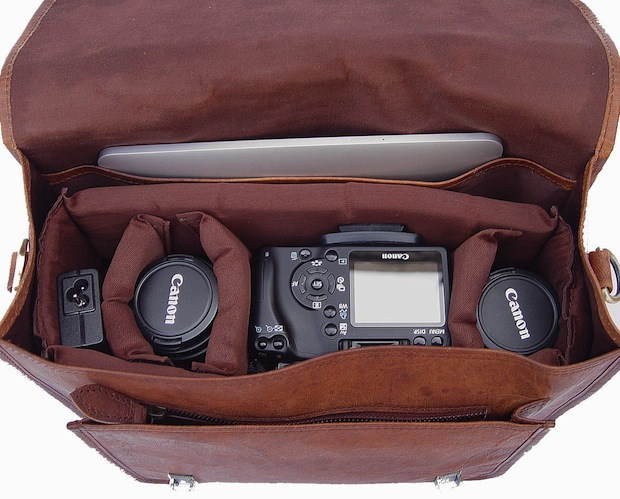 Hand Crafted Leather Camera Bags that Wont Break the Bank leatherbag3