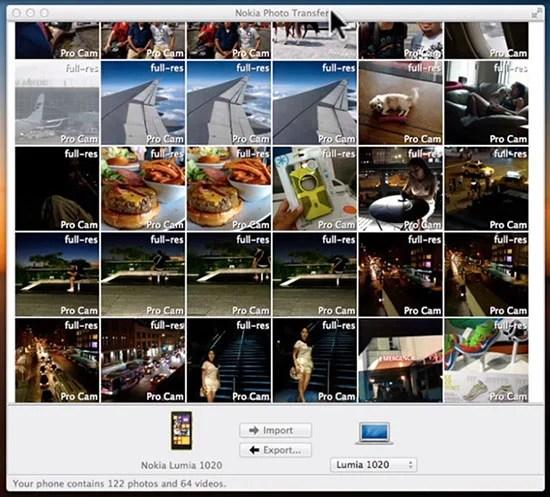 Nokia Releases Lumia Photo Transfer Tool For Mac Users phototransfer
