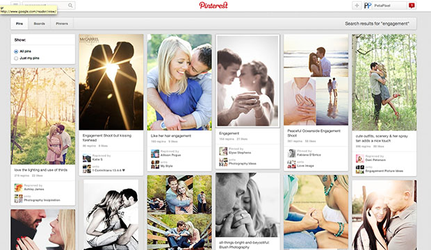 How Pinterest Can Discourage the Creative Process for Photographers pinterest