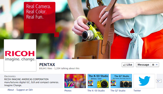 Ricoh Branding Takes Over Pentax Sites in Wake of Recent Name Change ricohrebrand3