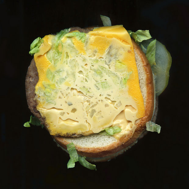 Pictures of Fast Food, Captured Using a Flatbed Scanner scannedfastfoods 13