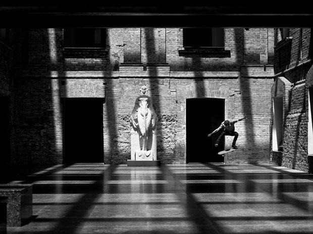 Amazing Skateboarding Self Portraits by Fabiano Rodrigues skateboard selfportraits 10