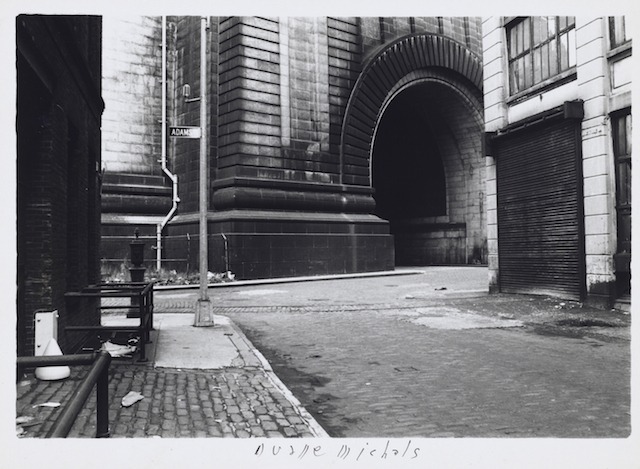 Empty New York, c. 1964 Vintage gelatin silver print 5 7/8 x 7 1/4 inches (paper)