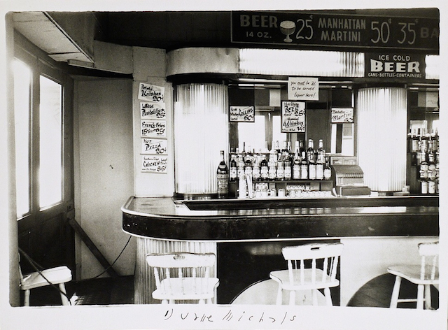 Empty New York, c. 1964, Vintage gelatin silver print, 5 1/4 x 7 1/8 inches (paper)