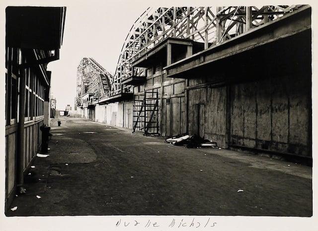 Empty New York, c. 1964, Vintage gelatin silver print, 5 1/4 x 7 1/4 inches (paper)