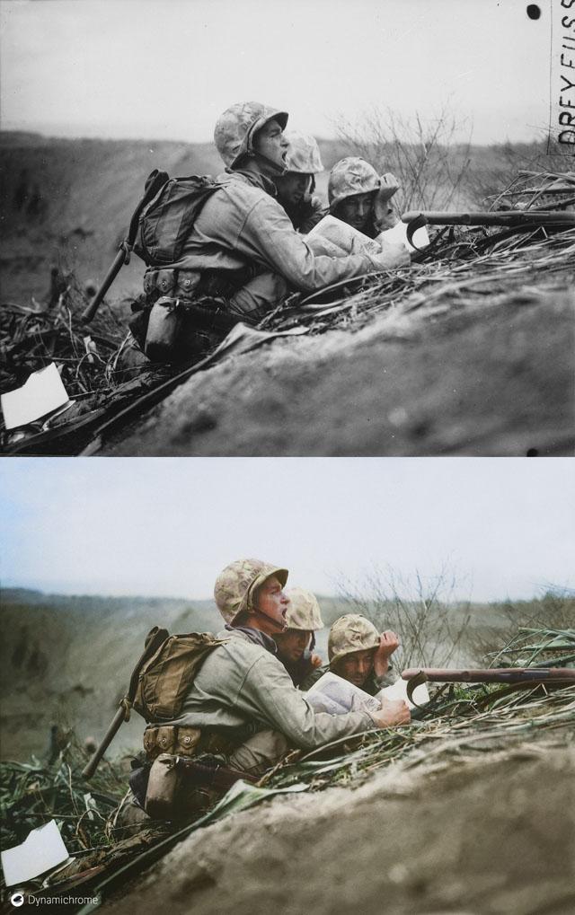 Dynamichrome_Iwo_Jima_1945