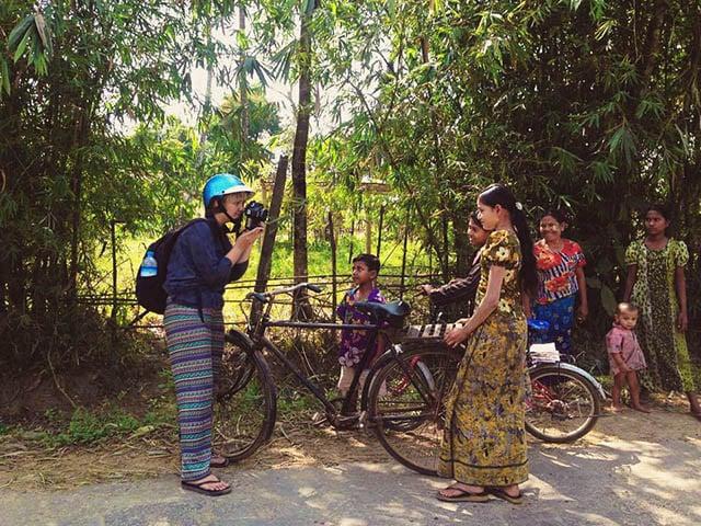 în Myanmar