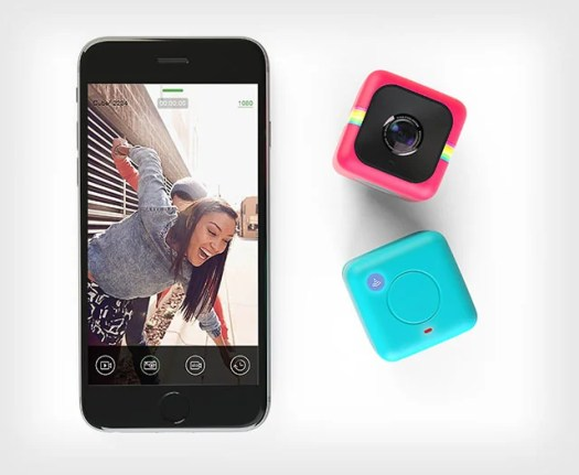 The Polaroid Cube+, announced in June 2015.