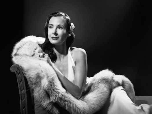Caroline Rasser, Actress in the style of George Hurrell