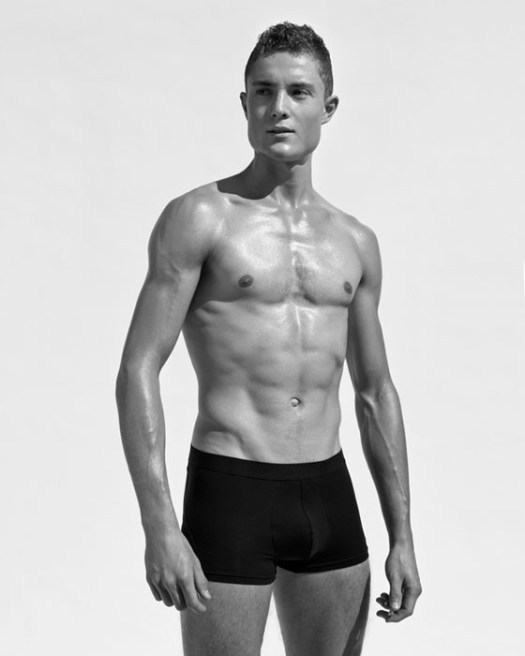 Luca Fabian, Rower in the style of Herb Ritts