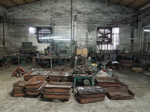 Knife factory – Yangjiang, China