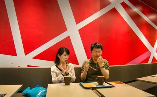 McDonald's conversation – Shanghai, China