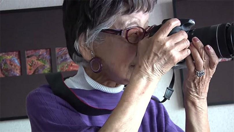 Fotos, Curiosidades, Comunicação, Jornalismo, Marketing, Propaganda, Mídia Interessante 97yearsold A fotógrafa mais velha do mundo tem 101 anos Cotidiano Curiosidades  fotografa japonesa
