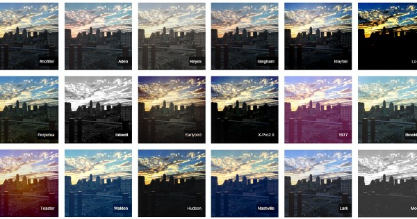 CSSgram: Instagram Filters Recreated with CSS Filters and ...