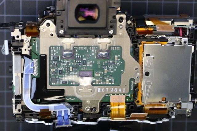 Image sensor circuitboard