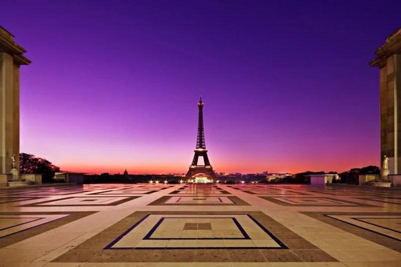 Eiffel Tower from the Palais de Chaillot | Aperture: f8  |  Shutter Speed: 25 sec  |  ISO: 100  |  Focal Length: 10 mm  | Lens: Sigma 10-20