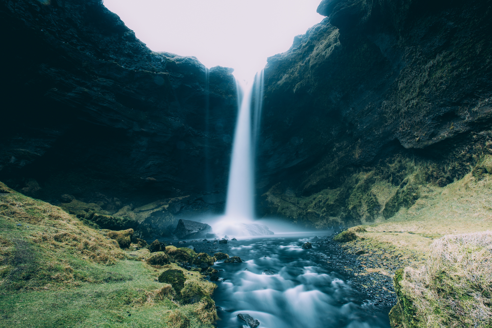 iceland-waterfall-falling-from-sky