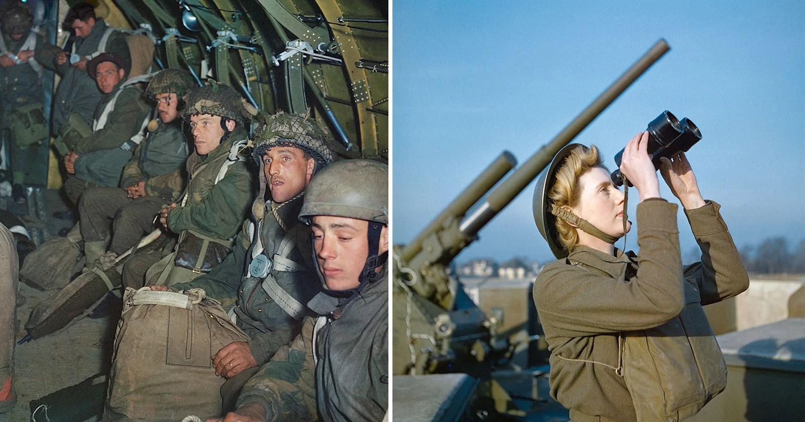 Rare Color Photos From World War Ii