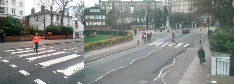 """bg9hirfceaalng3 jpg large orig 800x288 - Projeto """"Found"""" visa achar pessoas que tiraram foto na rua dos Beatles"""