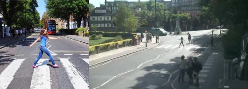 """bspads4caaatzgv jpg large orig 800x288 - Projeto """"Found"""" visa achar pessoas que tiraram foto na rua dos Beatles"""
