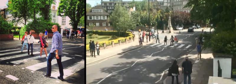 """dogglunar dypt orig 800x286 - Projeto """"Found"""" visa achar pessoas que tiraram foto na rua dos Beatles"""