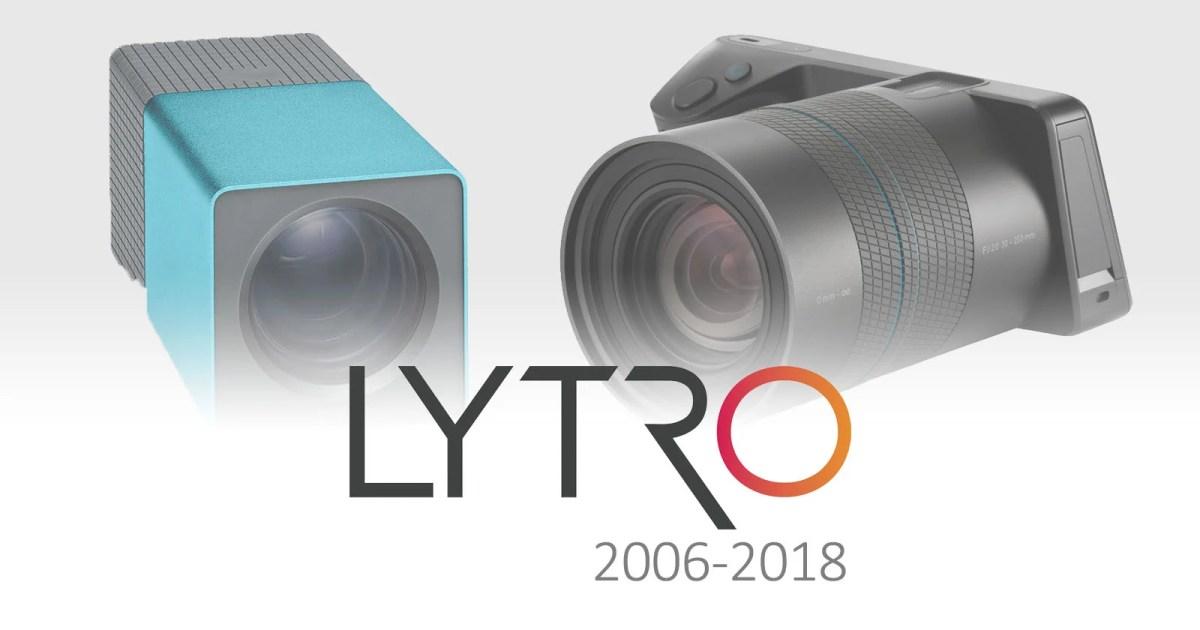 RIP, Lytro: Light Field Camera Pioneer Officially Shuttering