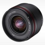 Samyang presenta l'obiettivo ultragrandangolare da 12 mm f / 2 per Sony E-Mount APS-C